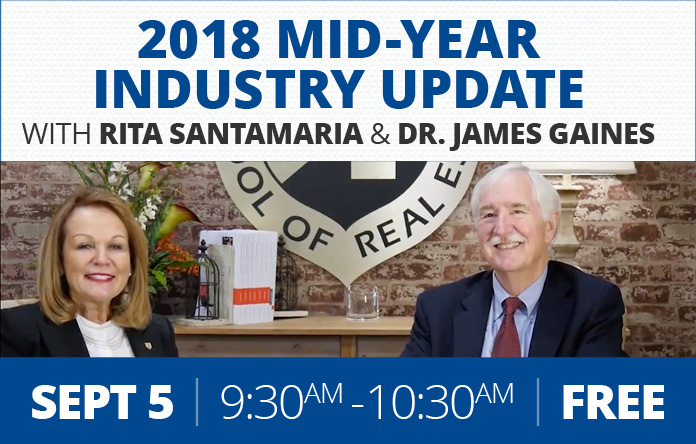 Class Promo - 2018 Mid-Year Industry Update w/ Rita Santamaria and Dr. James Gaines